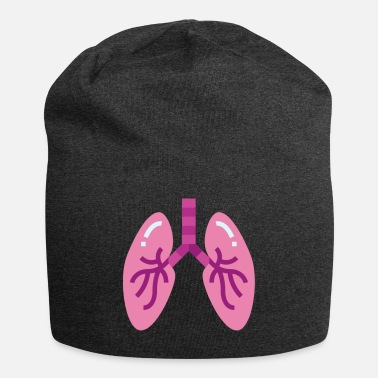 Illustration lungs illustration - Beanie