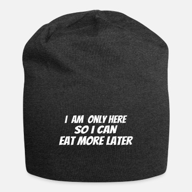 Addicted POWERLIFTING :only here to Eat more later - Beanie