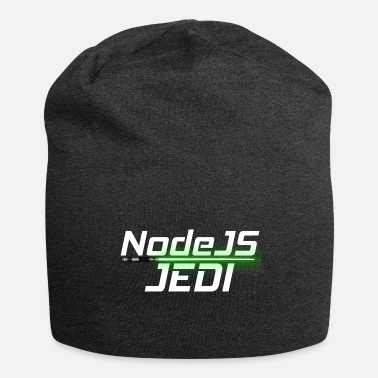 Web NodeJS Jedi, funny saying, for Software Developer - Beanie