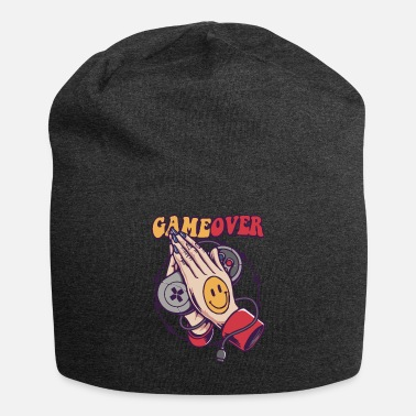 Gaming Smiley Game Over - Beanie
