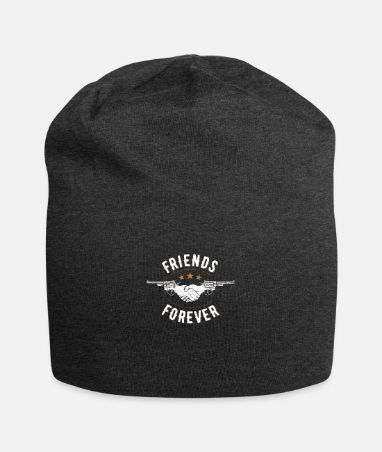 Dollar Sign Caps - friends 02 - Beanie charcoal gray