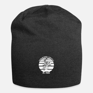 Motorcycle When in doubt throttle it out - Beanie