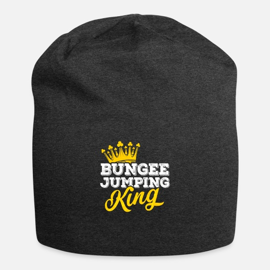 Jumping Spot Caps - Bungee Jumping - Beanie charcoal gray