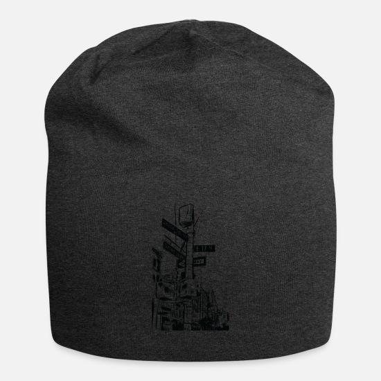 New York Caps - NEW YORK CITY STREETS - Beanie charcoal gray