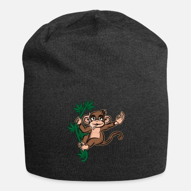 Smoke Weed Smoking Weed Monkey With Joint - Beanie
