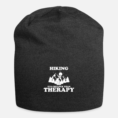 Climbing Hiking it`s cheaper than Therapy - Beanie