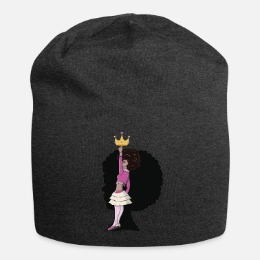 Positivity If The Crown Fits Black Girl Magic Afro Diva Queen - Beanie
