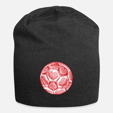 Mom Soccer Coach Heart Valentines Day Cute Gift Ideas - Beanie