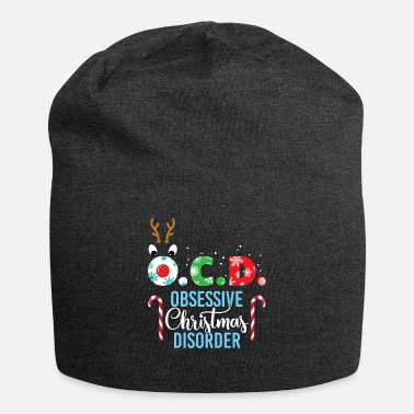 Uncle OCD Obsessive Christmas Disorder Reindeer Fun Gift - Beanie
