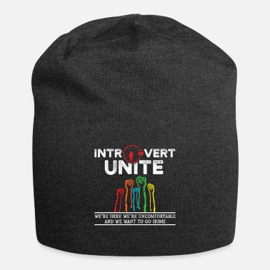 Aunt Introvert Unite Uncomfortable Want To Go Home Gift - Beanie