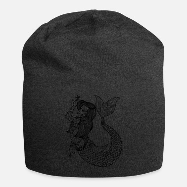 Tatoo VINTAGE MERMAID ART Mermaid Gift For Women - Beanie
