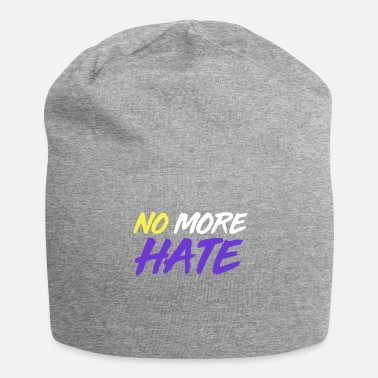 No More Hate - Pro Nonbinary Gift - Beanie