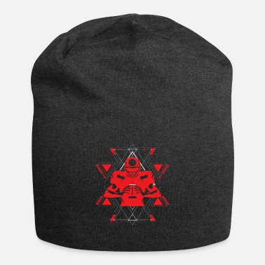 American Football Sport Red Abstract - Beanie