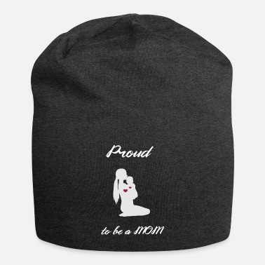 Coffee Lover Mothersday Proud Mom Mummy Love Respect TEAM Mom - Beanie