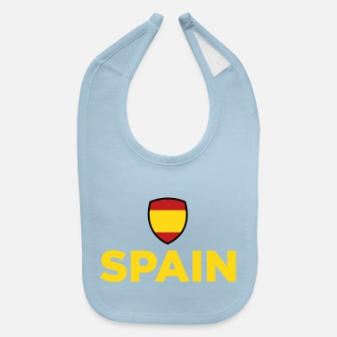 Spain National Flag Of Spain - Baby Bib