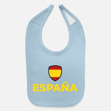 Spain Flag Of Spain - Baby Bib