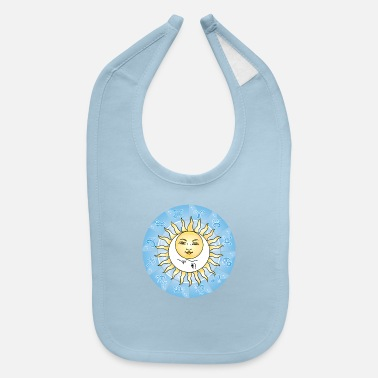 Astrology SUN AND MOON ASTROLOGY - Baby Bib