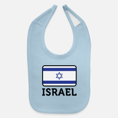 National Flag Of Israel - Baby Bib