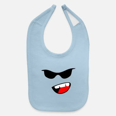Sunglasses sunglasses - Baby Bib