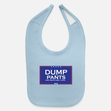 Democratic TRUMP THE CAMPAIGN - Baby Bib
