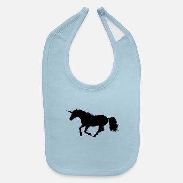 Gallop Wild Galloping Unicorn - Baby Bib
