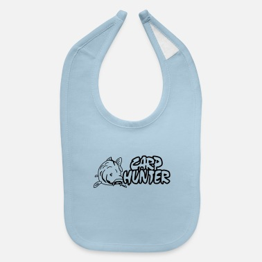 Carp Carp Hunter, carp, fish, ✔ - Baby Bib