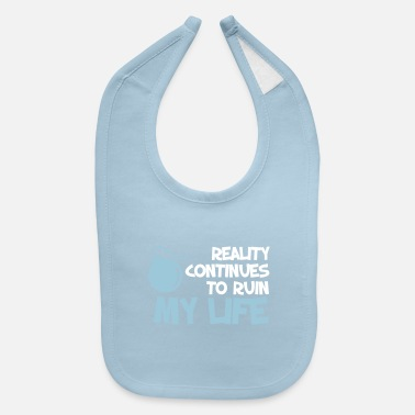 Funny Funny. Quotes. Humour. Happy - Baby Bib