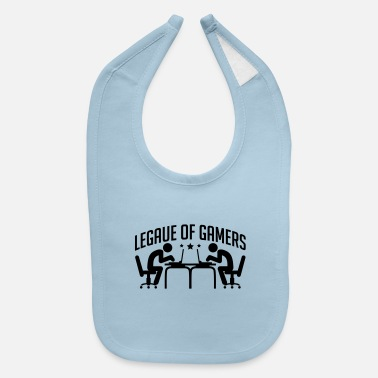 legue_of_gamers_be1 - Baby Bib