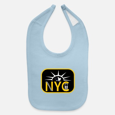 Subway New York City - Baby Bib