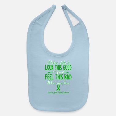 Spinal Cord Spinal Cord Injury Awareness - Baby Bib