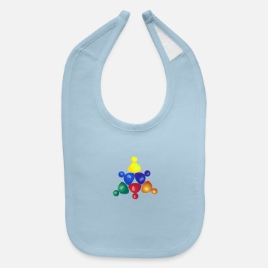 game of colour - Baby Bib