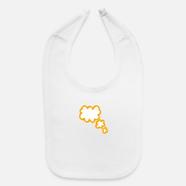 Thought Bubble Thought Bubble - Baby Bib