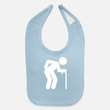 Age A Man Age At Retirement Age - Baby Bib