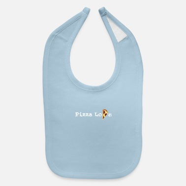 pizza love present - Baby Bib