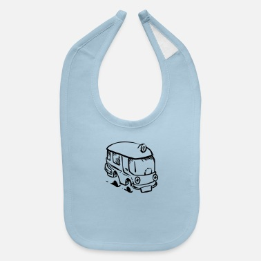 On Tour Bus on tour. - Baby Bib