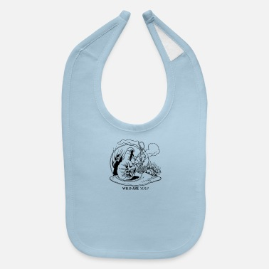 Caterpillar Caterpillar and Alice - Baby Bib