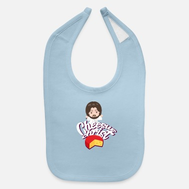 Cheesus Cheesus Christ Jesus God Church Funny Pope - Baby Bib
