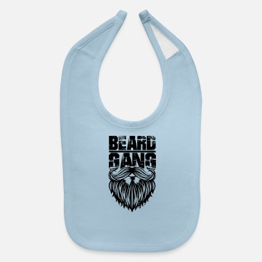 beard gang - Baby Bib