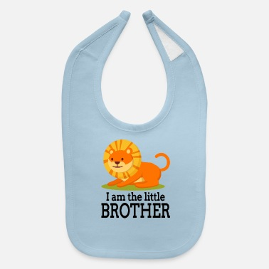 Little Brother I am the little brother - Baby Bib