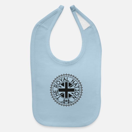 Britain Baby Clothing - TRN - Baby Bib light blue