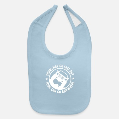 Vehicle Offroad vehicles - Baby Bib