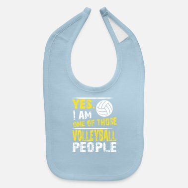 One of those VOLLEYBALL people - Baby Bib