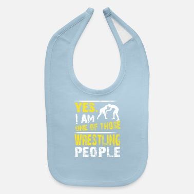 One of those WRESTLING people - Baby Bib