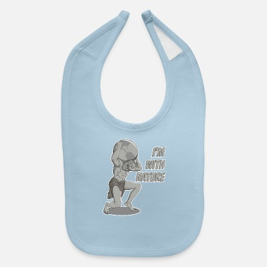 Mythology The mighty Atlas is with Nature - Baby Bib