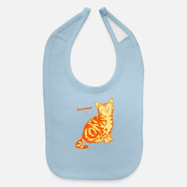 Slaves Funny Cat world domination slave sarcasm Gift - Baby Bib