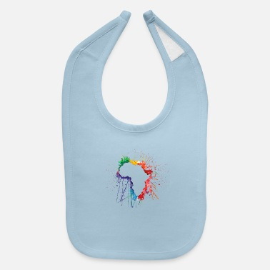 Kenya African Safari Funny Holiday Gift Wild Animals - Baby Bib