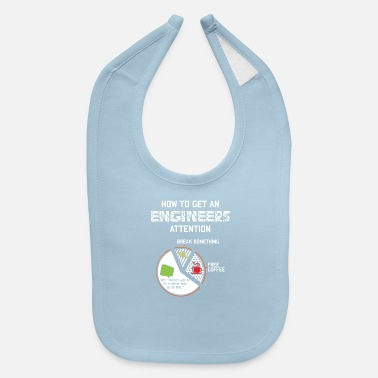 Grandma How To Get An Engineer Coffee Engineering Gifts - Baby Bib