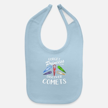 Teen Discover Comets in Germany Like a STEM Girl Design - Baby Bib