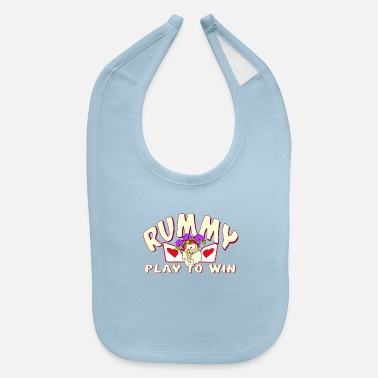 Rummy Rummy - Play to Win - Baby Bib