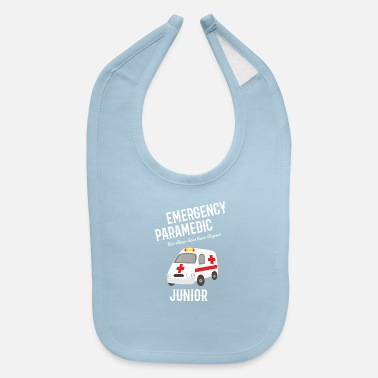 Baby Emergency Paramedic Junior - Baby Bib